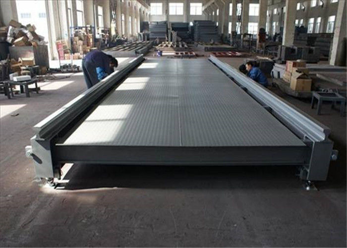 Car Weighing Pit Type Weighbridge 8 Load Cell Capacity Stable Performance