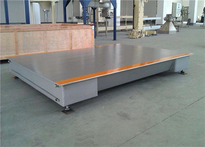 Anti Rust Painting Truck Weighbridge 8 - 12mm Smooth Plate Thickness