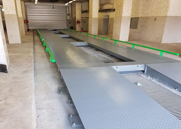 LED Display Electronic Lorry Weighbridge 3 / 3.4m Platform Width Effectively