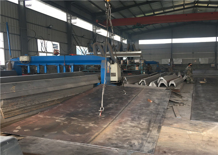 U - Shape Beam Structure Lorry Weighbridge Load Cell 3X16 Meter For 100 Ton Weighbridge