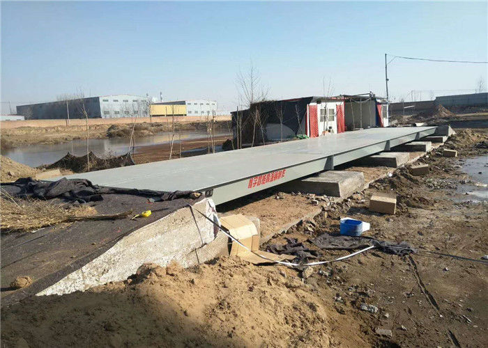 Class C3 Full Electronic Truck Weighbridge 80 Ton Accuracy 30kg